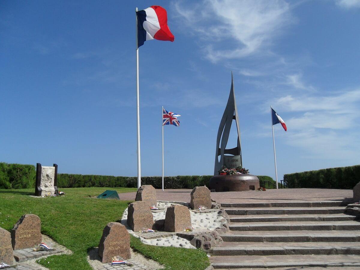 Monument Sword Beach - Normandie