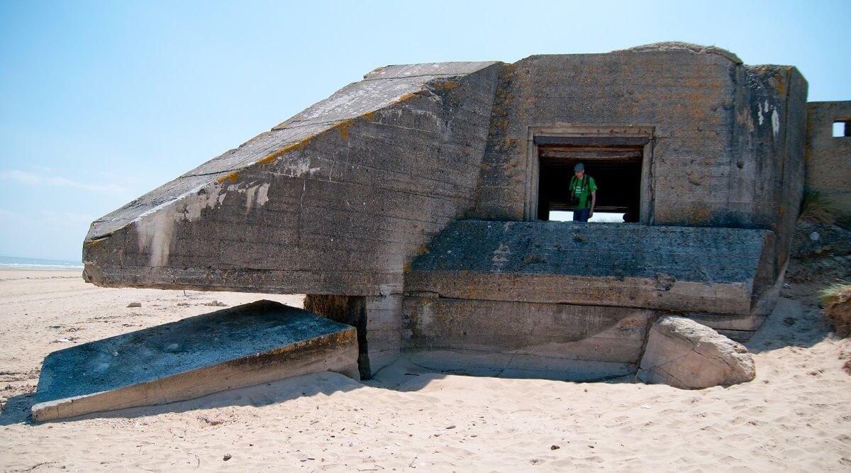 Bunker Utah Beach - Normandie