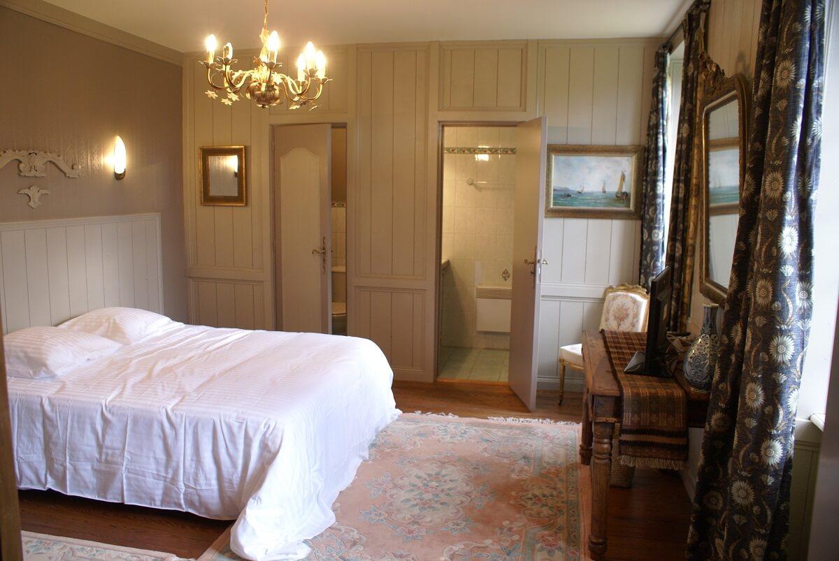 Chambre - Hôtel Le Grand Hard - Saite-Marie-du-Mont