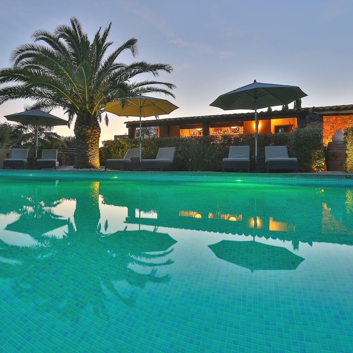 Piscine - Hôtel La Dimora - Oletta - Haute-Corse