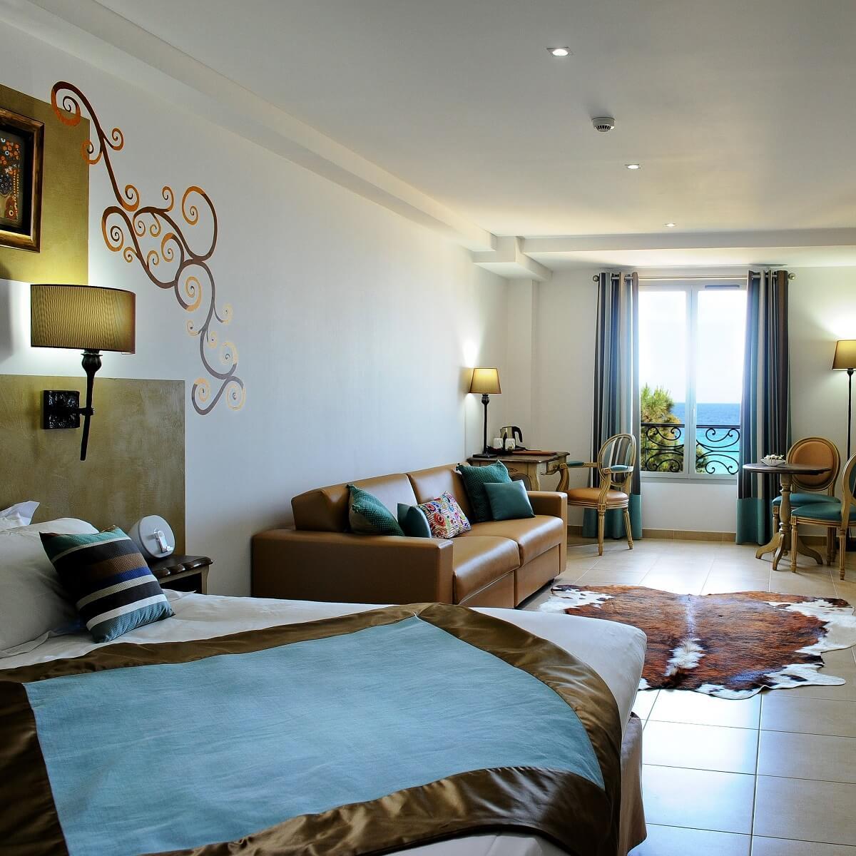 Chambre - Hôtel Liberata - L'île Rousse - Haute-Corse