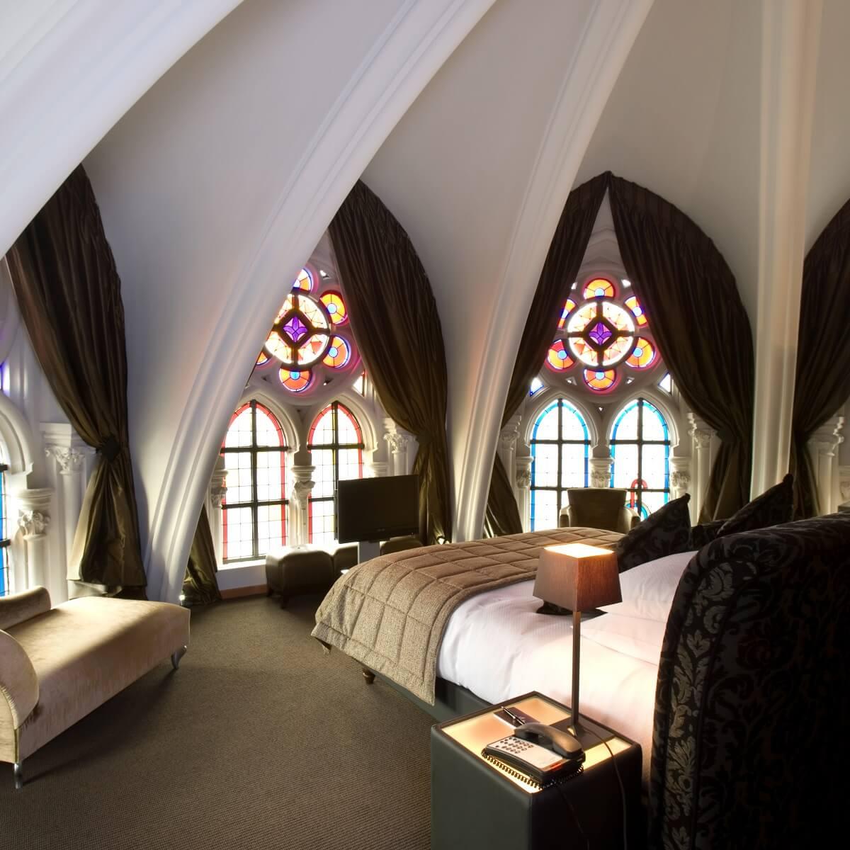 32 occasions de dormir dans un lieu insolite - Room5