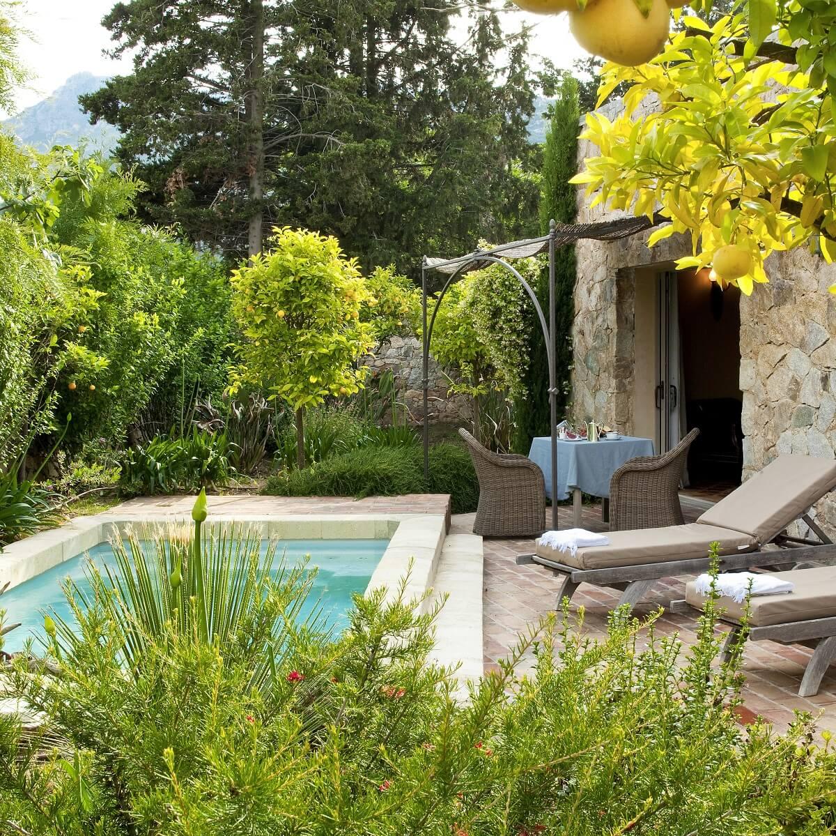 Piscine privée - Hôtel La Signoria - Calvi - Corse du sud