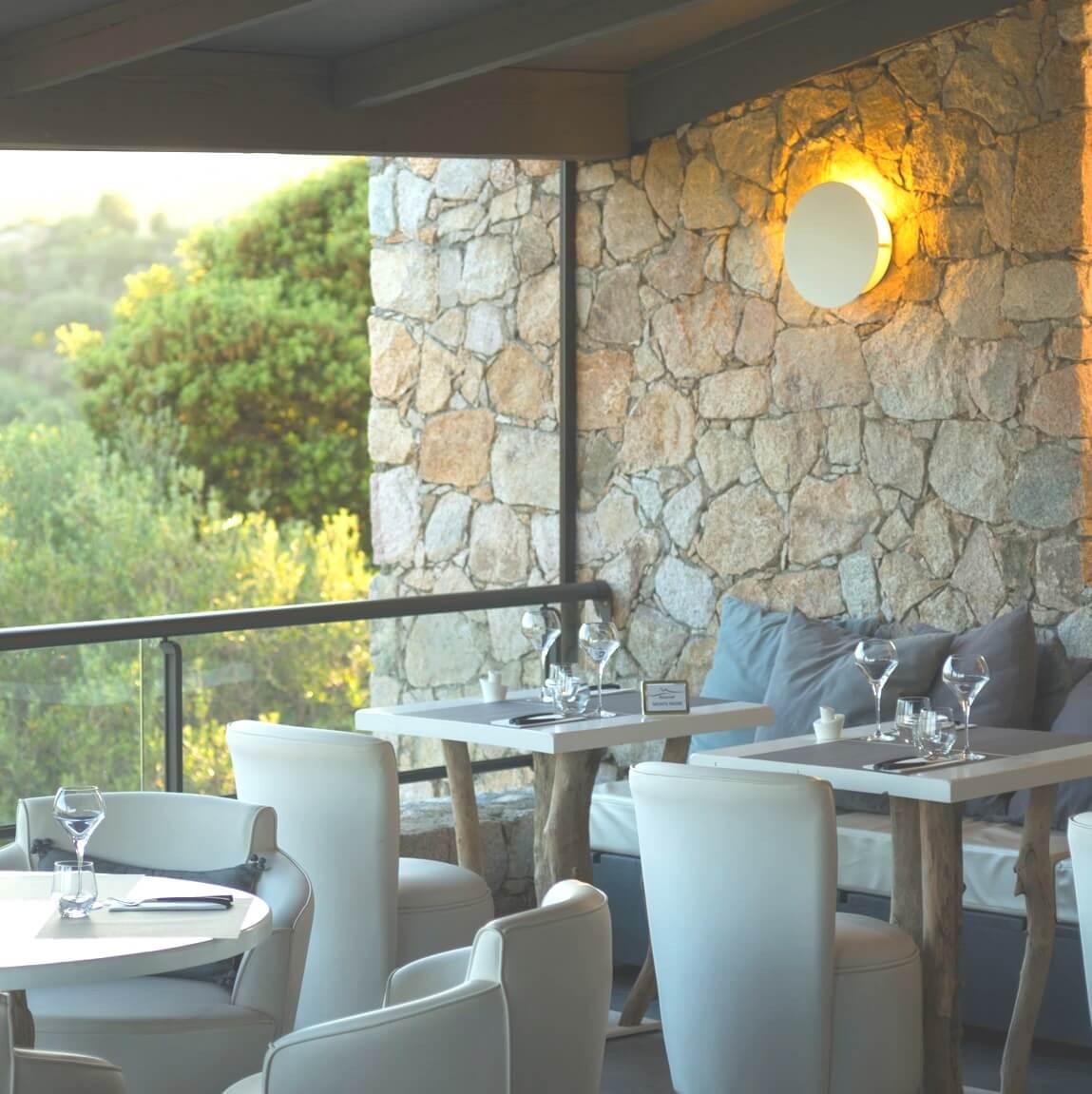 Restaurant - Hôtel A Piattatella - Monticello - Haute-Corse-