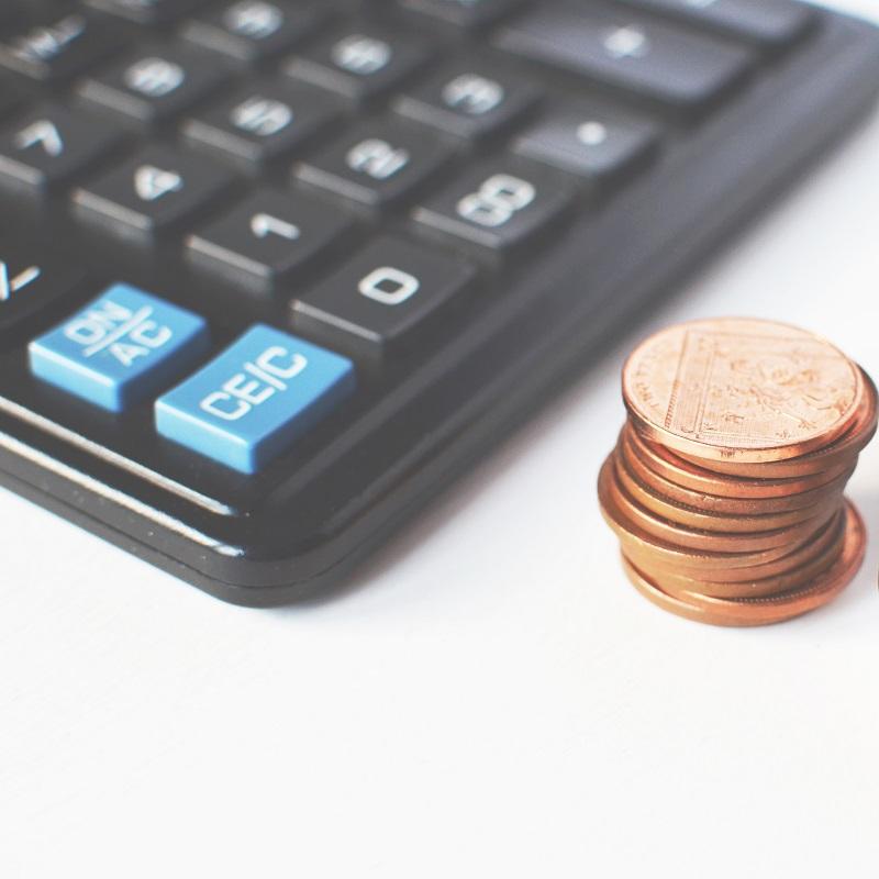calculette - argent