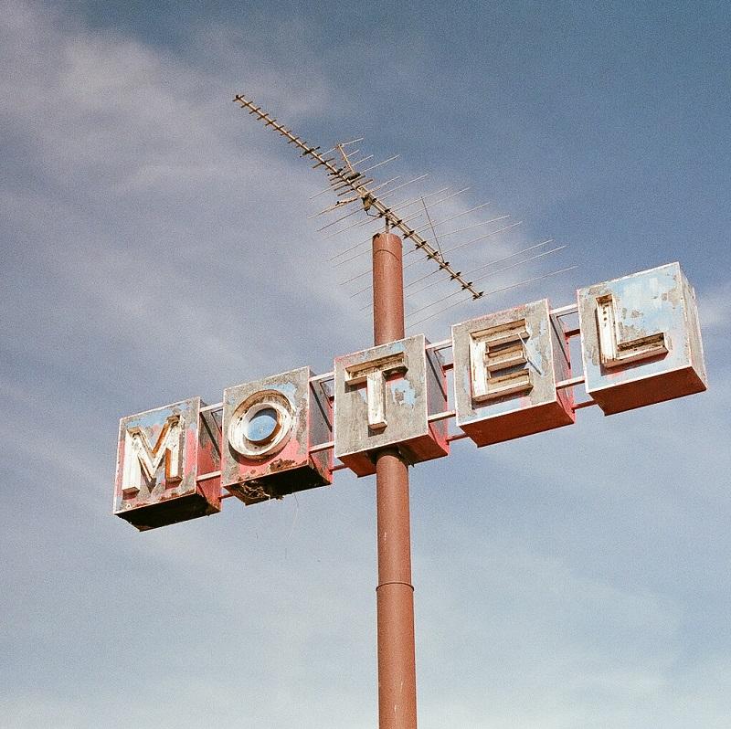 panneau motel