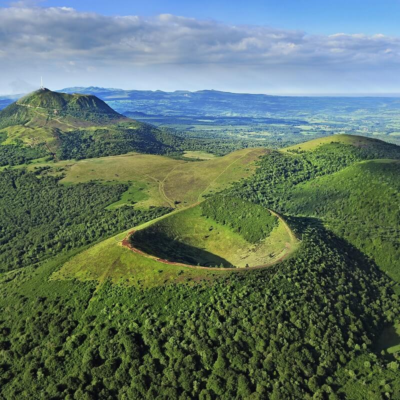 Volcans d'Auvergne - France