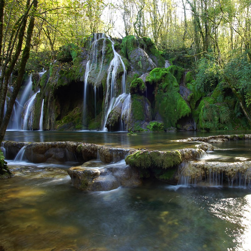 Cascade des Tufs - Jura - France