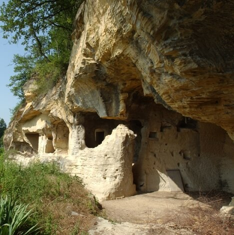 Grotte Troglodytique - Vienne - France