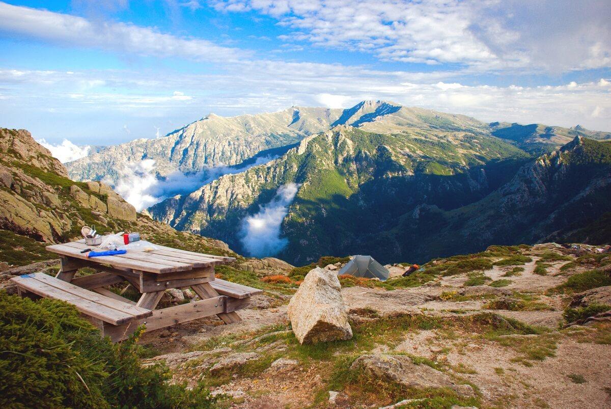 Sentier de randonnée GR20 - Corse