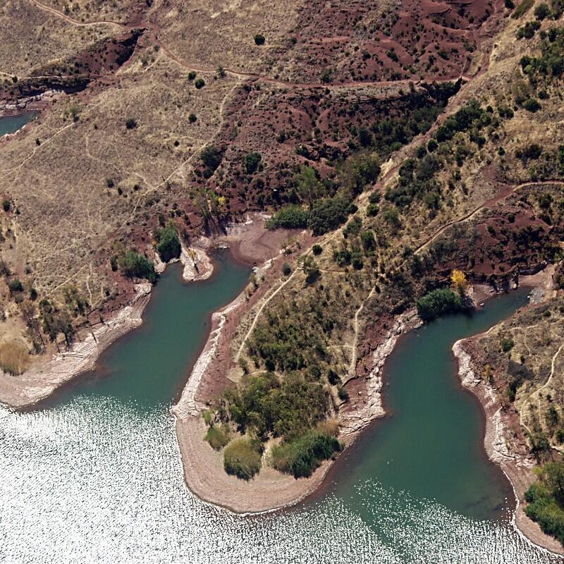 Le lac du Salagou - Hérault - France