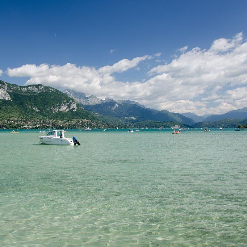 Le lac d'Annecy - Haute-Savoie - France
