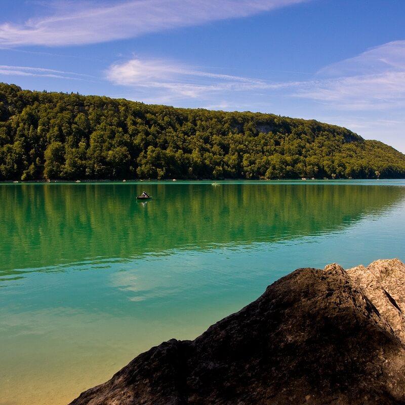 Le Lac de Chalain - Jura - France