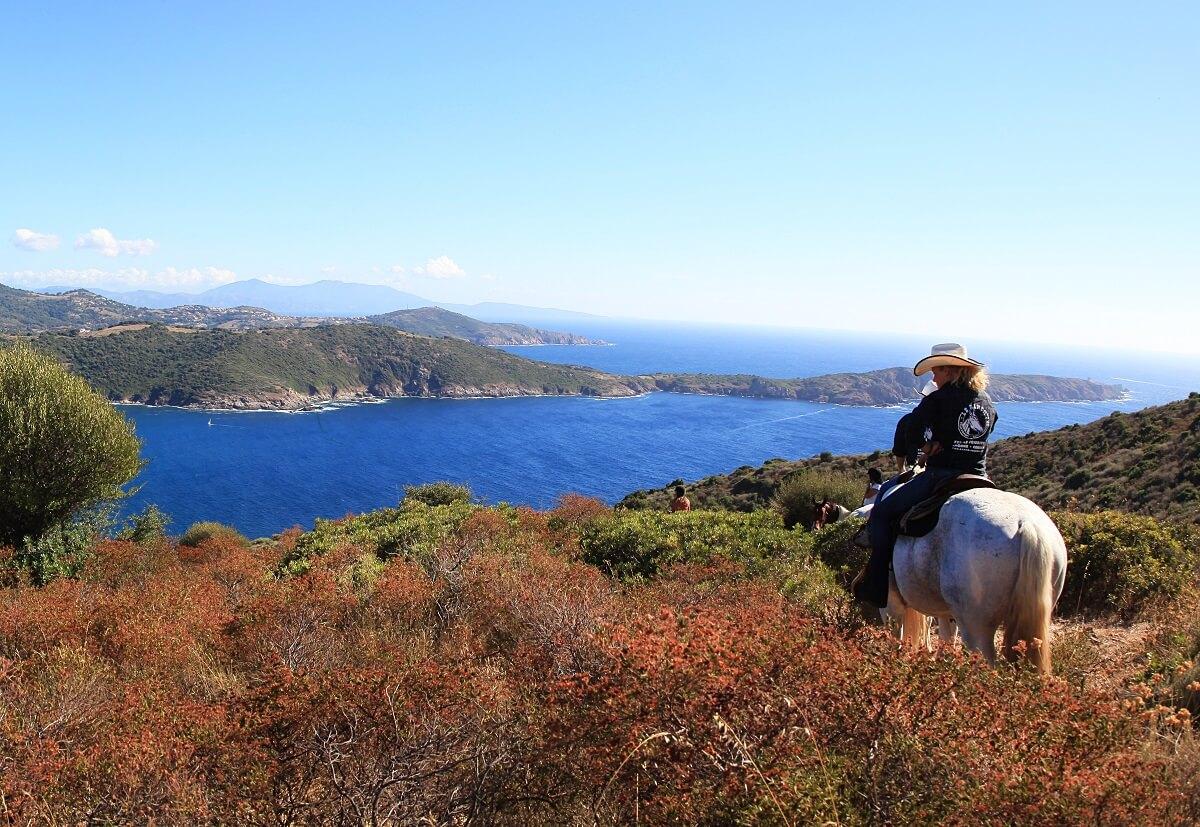 Balade à cheval - Corse
