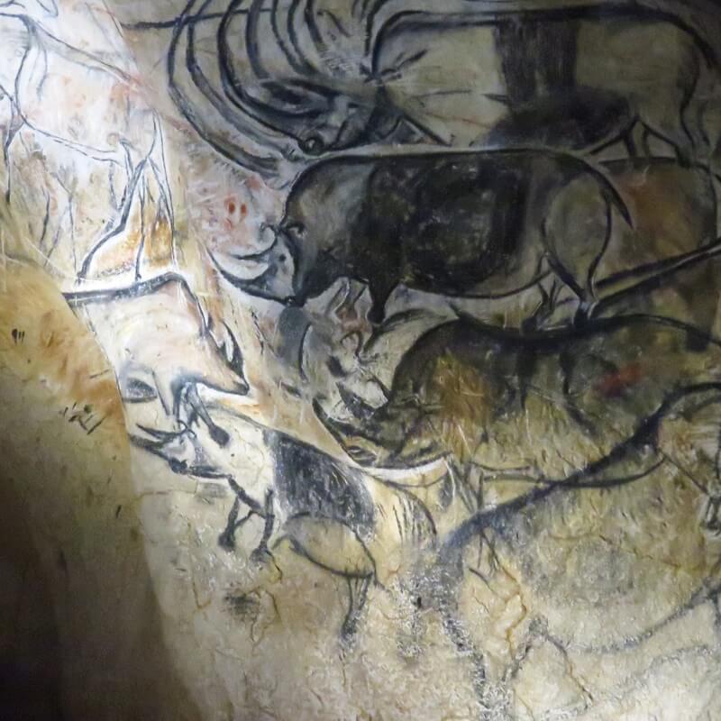 Peintures de la Caverne du Pont d'Arc - Ardèche