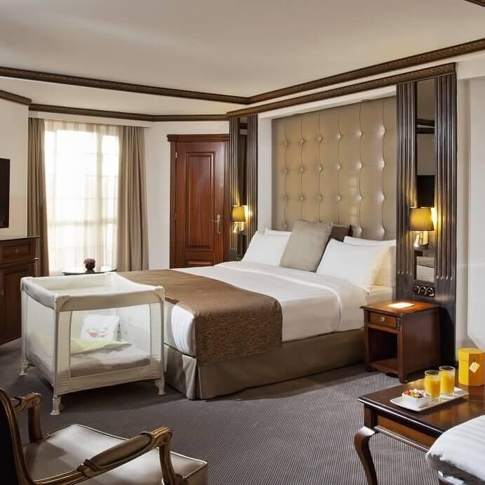 Chambre triple - Hôtel Melia White House - Londres