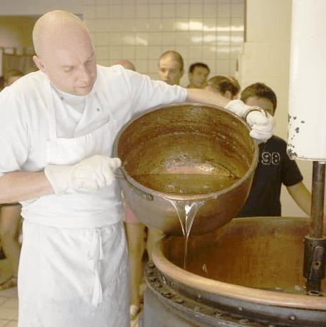 Préparation du nougat - Ardèche