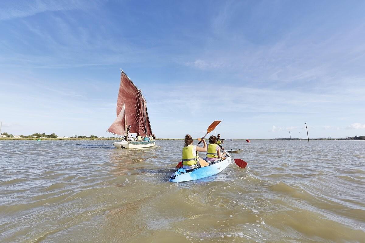 Kayak, voile et paddle - Aiguillon sur mer - Vendée