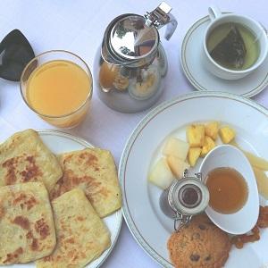 Petit-déjeuner de de l'hôtel Es Saadi