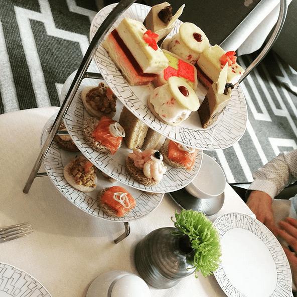 Afternoon Tea - Hôtel Intercontinental Park Lane - Londres
