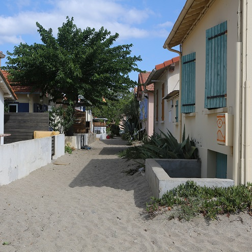 Maisons près de la plage du Racou à Argelès-sur-Mer