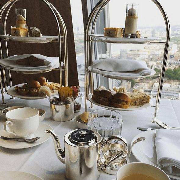 Afternoon Tea - Hôtel Shangri-La London at the Shard - Londres