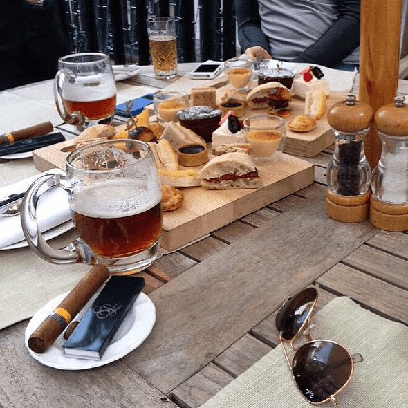 Afternoon Tea - Hôtel The Stafford - Londres