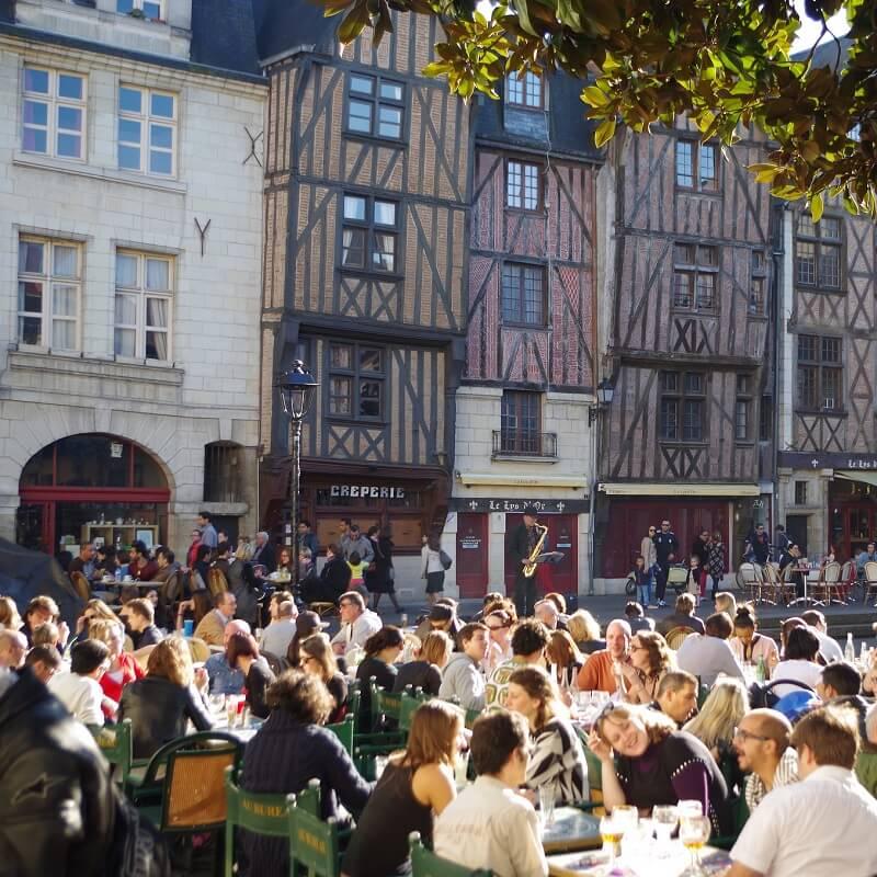 Place Plumereau - Tours - Loire