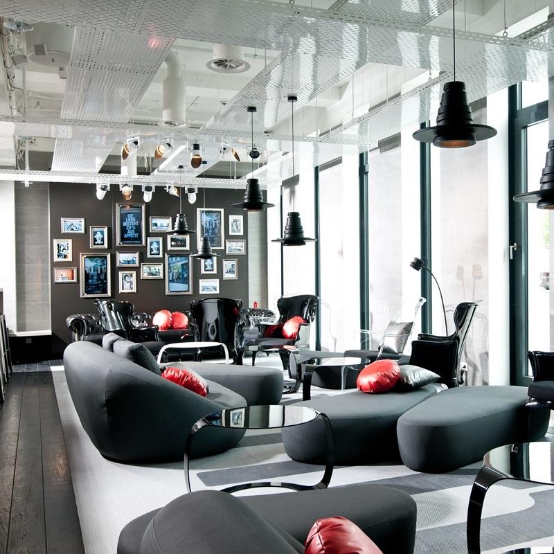 Salon du ONE80° Hostel Berlin