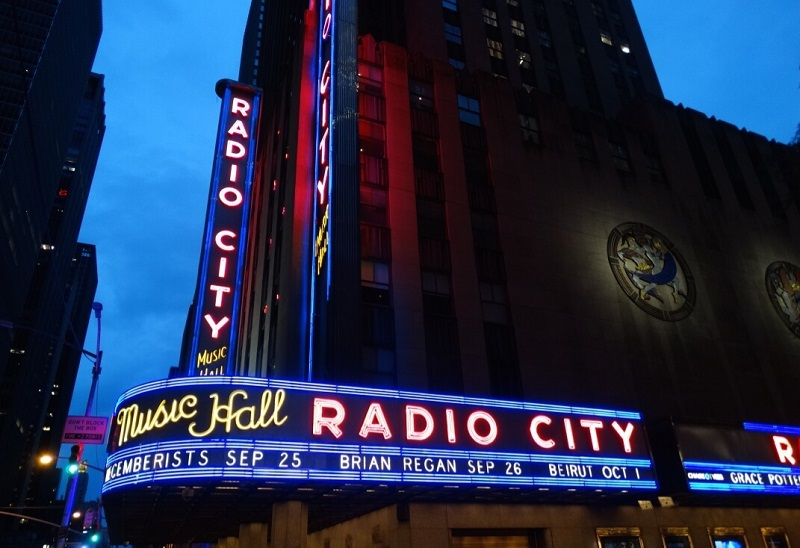 Radio City Hall - Manhattan - New-York