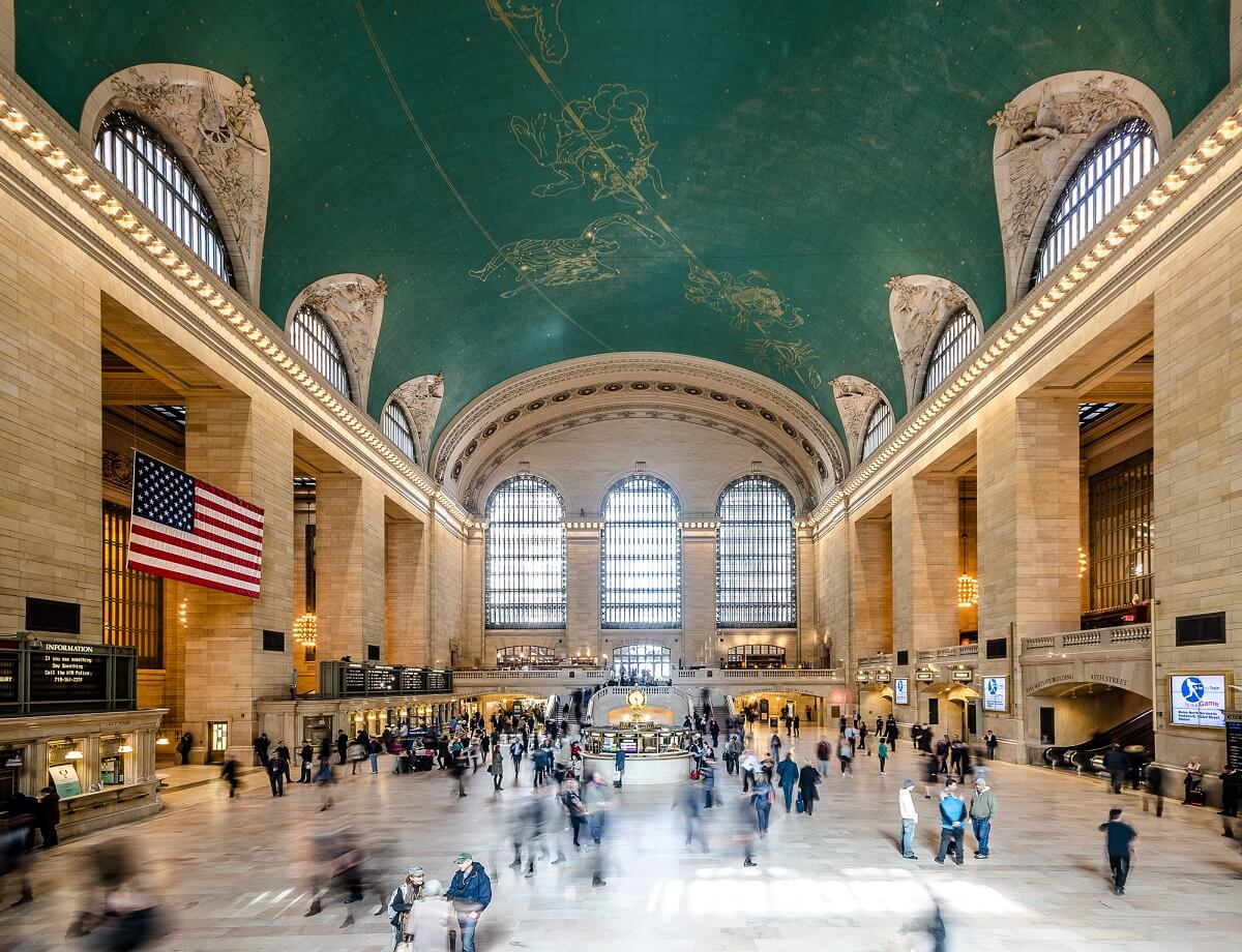 Gare de Grand Central - New-York