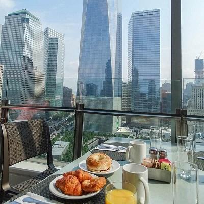 Petit-déjeuner - Hôtel Club Quarters WTC - New York