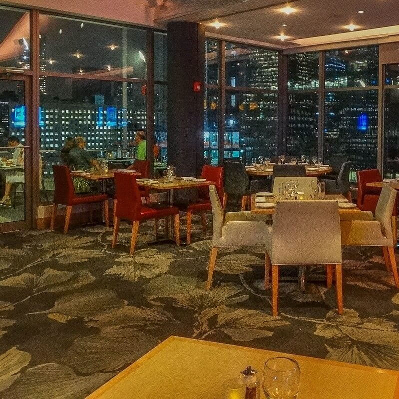 Restaurant - Hôtel Club Quarters World Trade Center - New-York