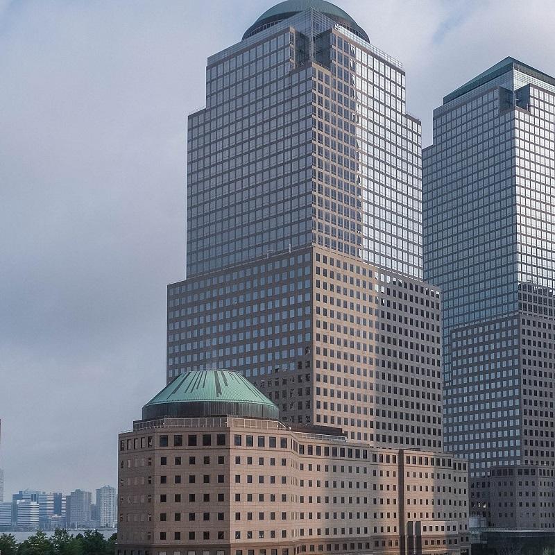 Gratte-ciel à proximité de l'hôtel Chambre - Hôtel Club Quarter WTC - New-York