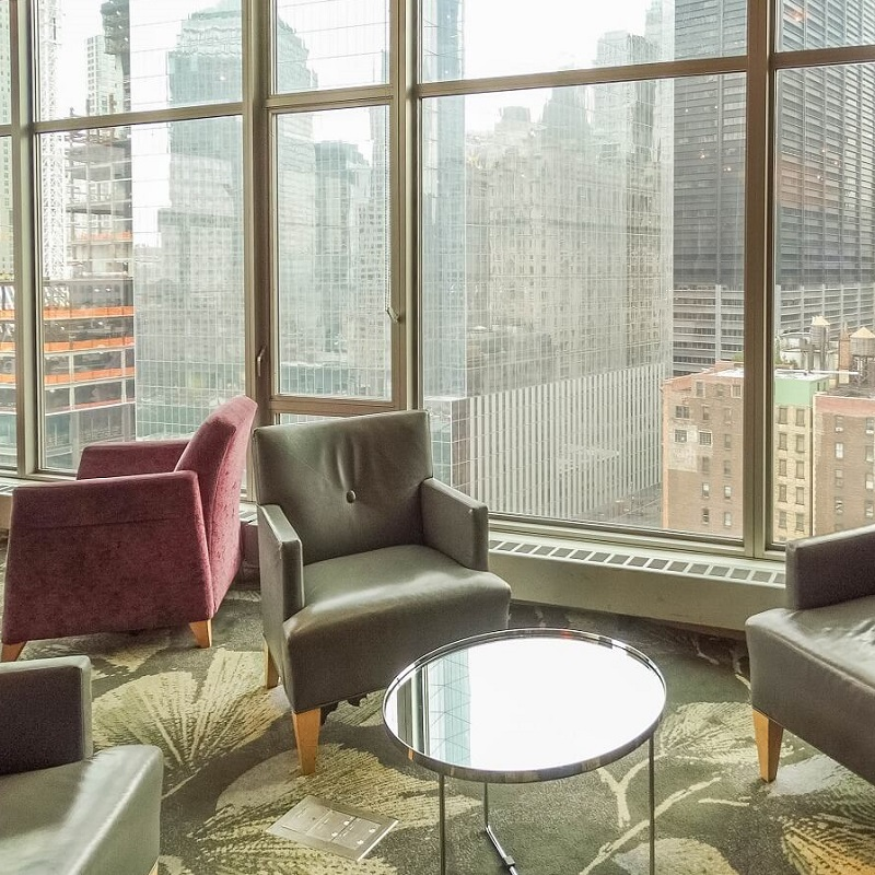 Salon - Hôtel Club Quarters WTC - New-York