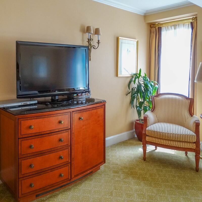 Equipement chambre - Hôtel PLaza Athénée - New-York