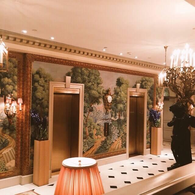 Intérieur - Hôtel Plaza Athénée - New-York