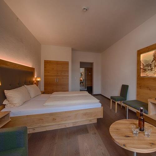 Chambre double au Griesbräu zu Murnau à Murnau
