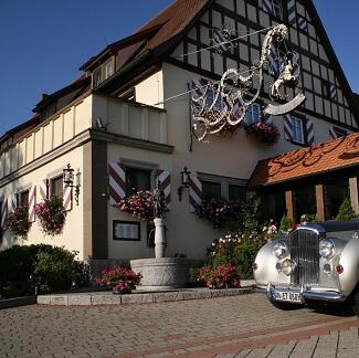 Entrée du Landwehr Brau à Steinsfeld