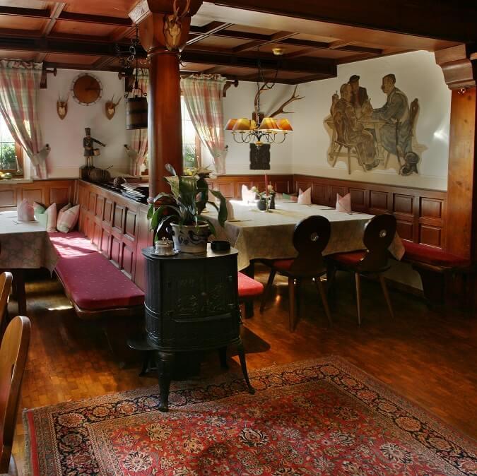 Salle à manger au Landwehr Brau à Steinsfeld