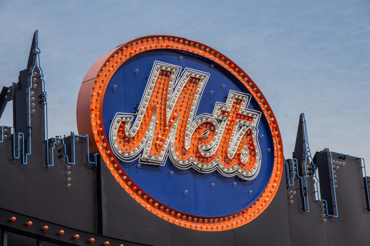 Enseigne équipe des Mets - Stade Citi Field - Queens - New York
