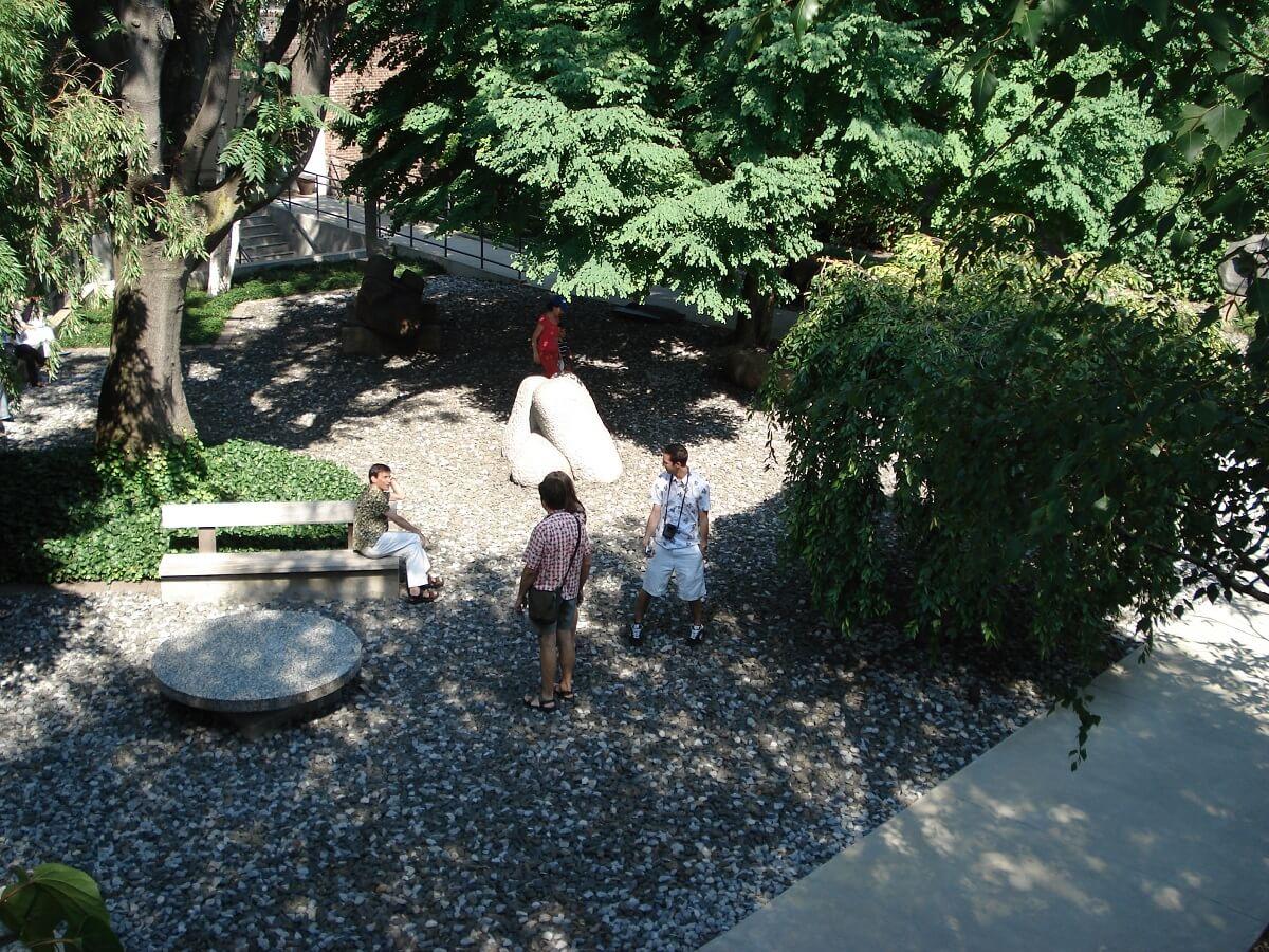 Jardin - Noguchi Museum - Queens - New York