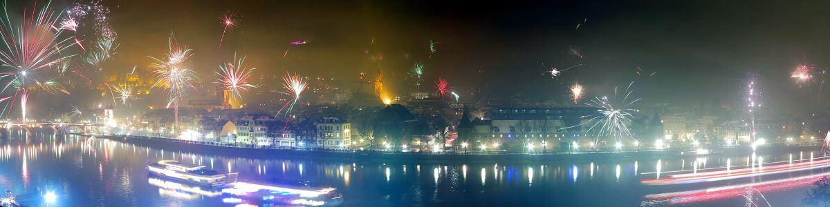 Silvester enkelt Heidelberg