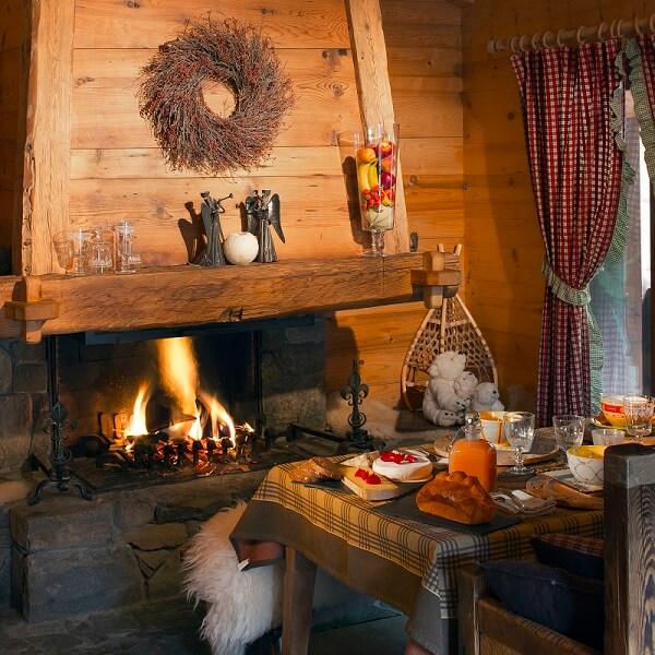 Les plus beaux chalets pour de belles vacances en savoie - Les plus belles cheminees ...