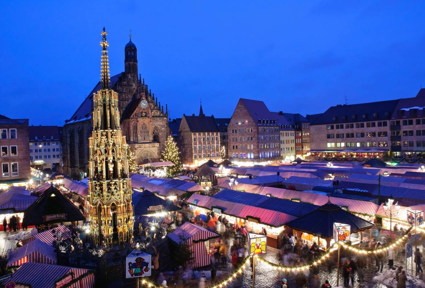 The Christmas Markets Nuremburg προορισμοι γερμανια