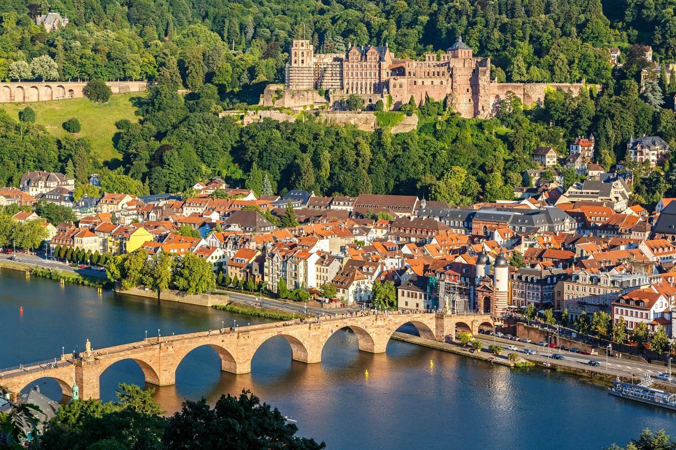 The Romantic Old City Heidelberg προορισμοι γερμανια