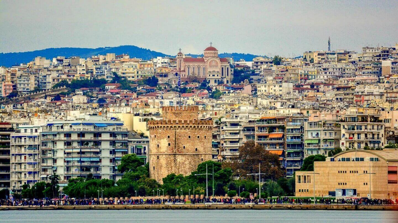ταξιδι στην ελλαδα θεσσαλονικη