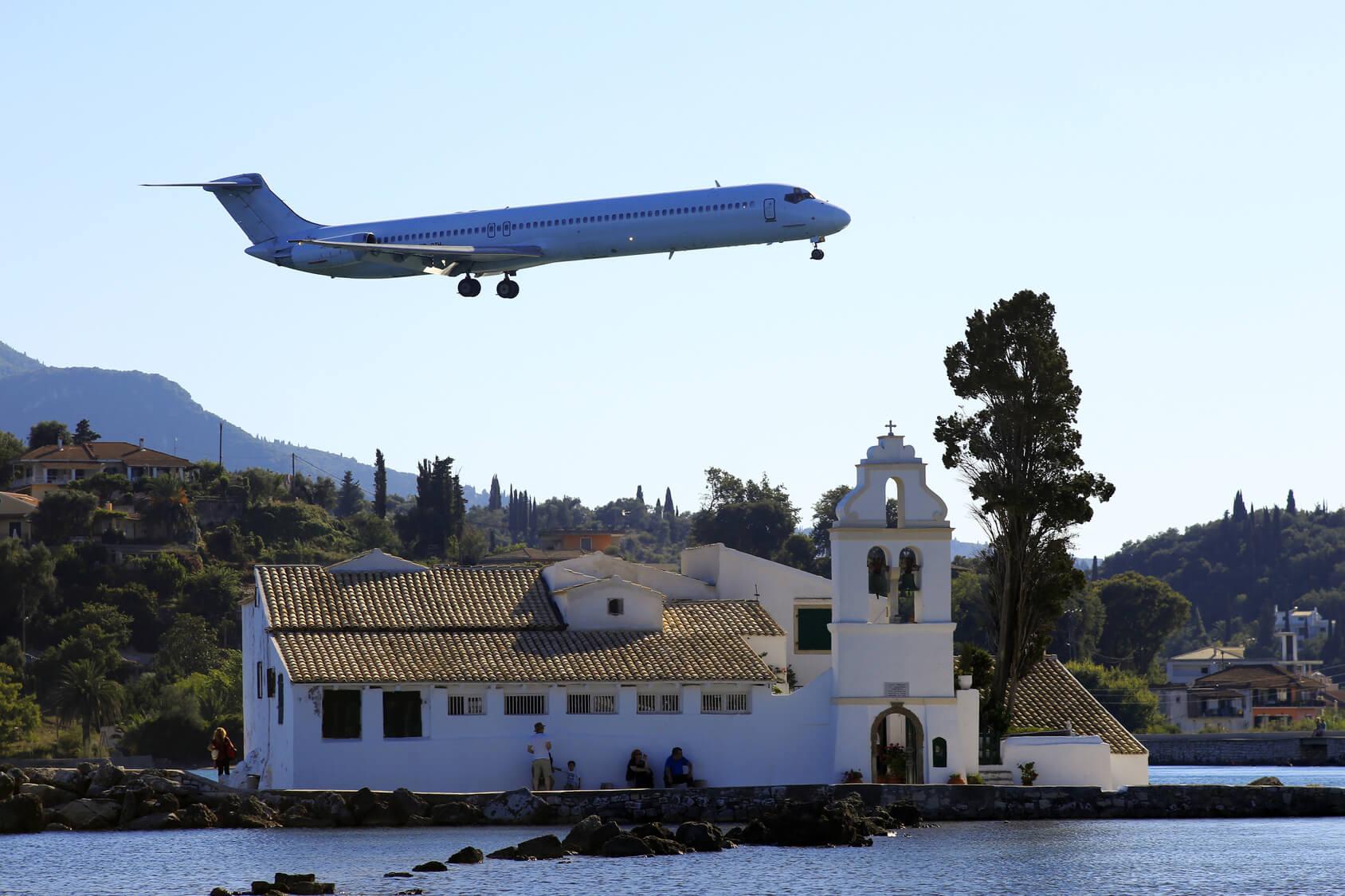 Anflug auf Korfu© CLHuetter πρακτικος οδηγος κερκυρα