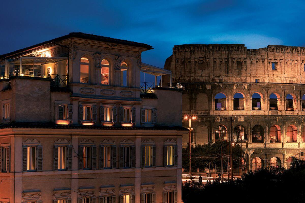 7 Palazzo-Manfredi-1200 δωματια με θεα αξιοθεατα κολοσσαιο ρωμη