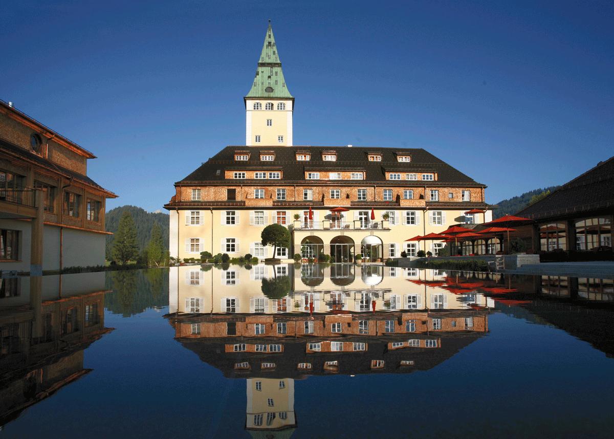 Hotel Schloss Elmau Hotel Elmau Hotel Bayern Hotel Deutschland